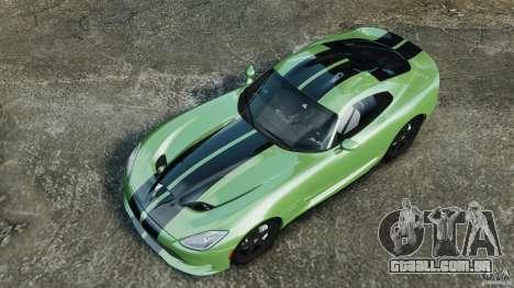 SRT Viper GTS 2013 para GTA 4