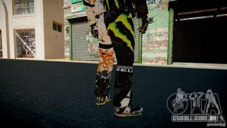 Ken Block Gymkhana 5 Clothes (Unofficial DC) para GTA 4 oitavo tela