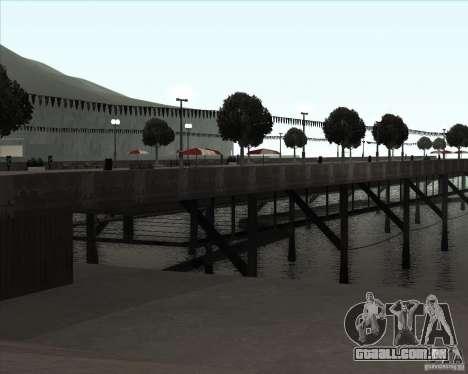ENBSeries NORTH para GTA San Andreas quinto tela