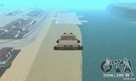 DeLorean DMC-12 (BTTF2) para GTA San Andreas vista direita