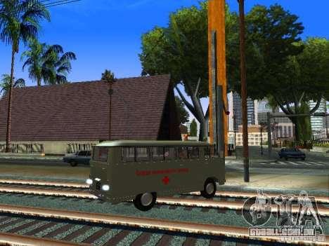 RAPH-977IM emergência para GTA San Andreas vista direita