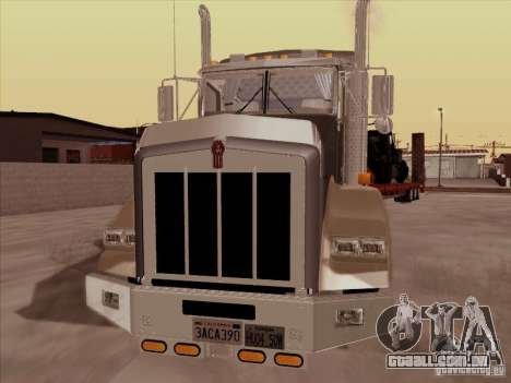 Kenworth T800 para GTA San Andreas esquerda vista