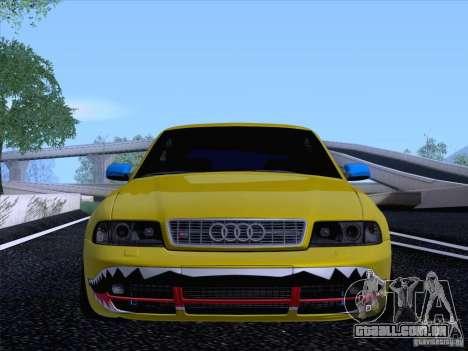 Audi S4 DatShark 2000 para GTA San Andreas vista traseira