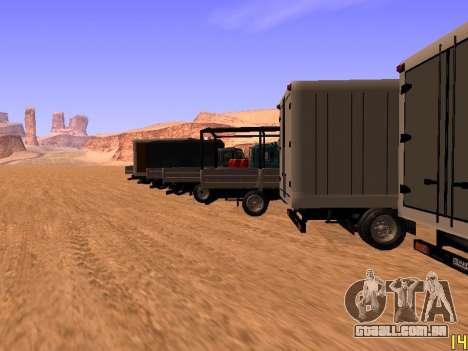 ZIL 5301 Goby para GTA San Andreas interior