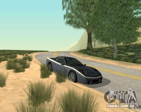 Soquette do GTA 4 para GTA San Andreas esquerda vista