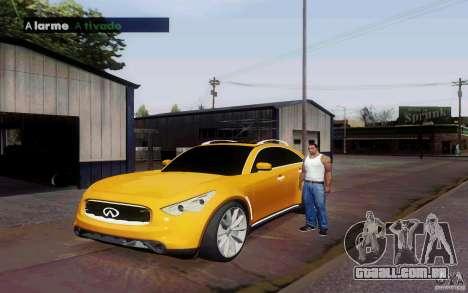 Alarme Mod v4.5 para GTA San Andreas terceira tela