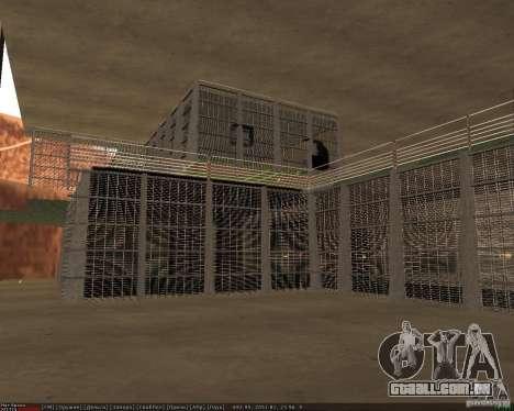 Base do dragão para GTA San Andreas nono tela