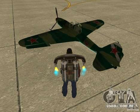 Il-2 m para GTA San Andreas esquerda vista