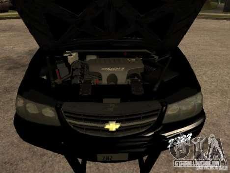 Chevrolet Impala Police 2003 para GTA San Andreas vista traseira