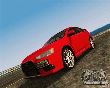 NFS The Run ENBSeries by Sankalol para GTA San Andreas segunda tela