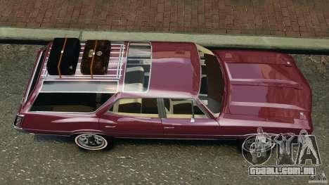 Oldsmobile Vista Cruiser 1972 v1.0 para GTA 4 vista direita
