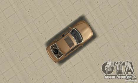 Lexus IS300 2005 para GTA San Andreas vista direita