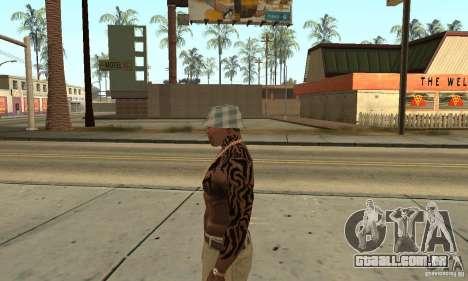 Tatu CJ para GTA San Andreas segunda tela