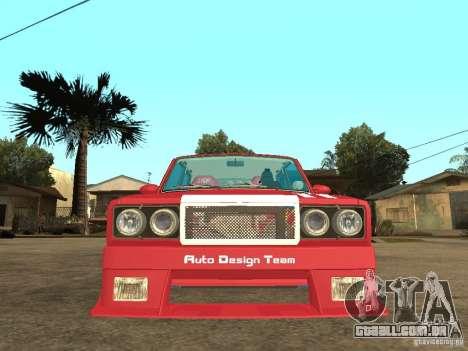 VAZ 2107 Sparky para GTA San Andreas vista direita