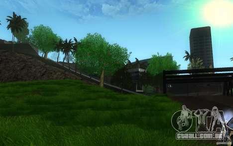 Vegetação perfeita v. 2 para GTA San Andreas segunda tela