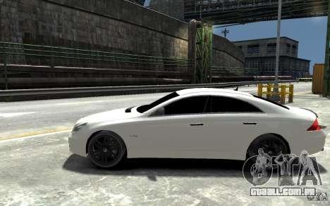 Mercedes Benz CLS Brabus Rocket 2008 para GTA 4 esquerda vista