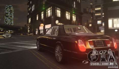 Bentley Arnage T v 2.0 para GTA 4 traseira esquerda vista