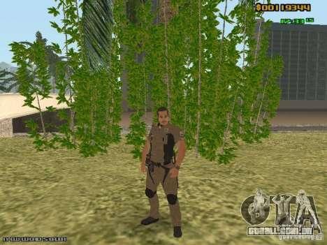 SAPD skins para GTA San Andreas terceira tela