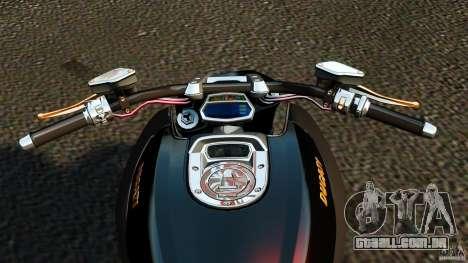 Ducati Diavel Carbon 2011 para GTA 4 vista de volta