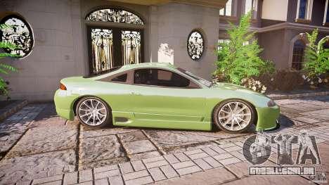 Mitsubishi Eclipse para GTA 4 vista de volta