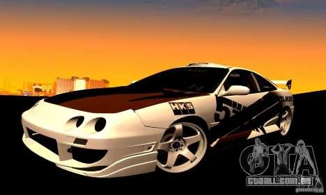 Acura Integra Type R para GTA San Andreas vista direita