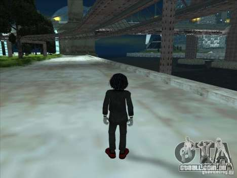 Saw para GTA San Andreas terceira tela