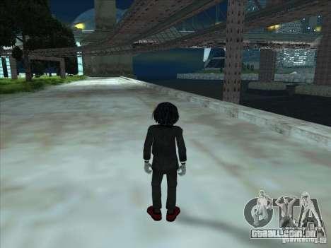 Saw para GTA San Andreas terceira tela