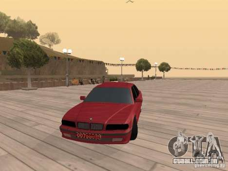 BMW 750iL e38 diplomata para GTA San Andreas