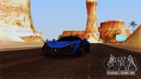 ENBSeries by egor585 para GTA San Andreas quinto tela