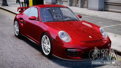 Posrche 911 GT2 para GTA 4 vista interior