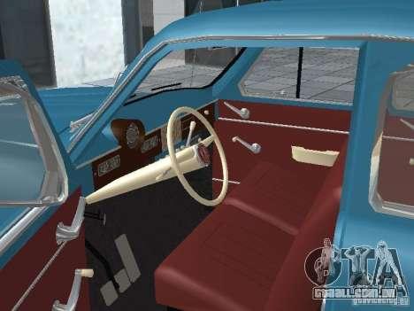 Moskvich 403 para GTA San Andreas vista traseira