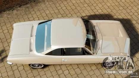 Chevrolet Corvair Monza 1969 para GTA 4 vista direita