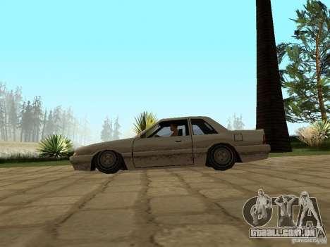Suspensão a ar para GTA San Andreas terceira tela