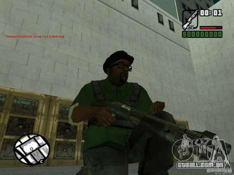 Black Weapon by ForT para GTA San Andreas segunda tela