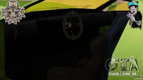 Buffalo Edited by ZveR para GTA San Andreas traseira esquerda vista