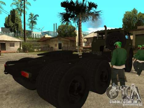 MAZ 515V para GTA San Andreas vista direita