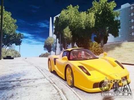 Ferrari Enzo 2002 para GTA 4 vista de volta
