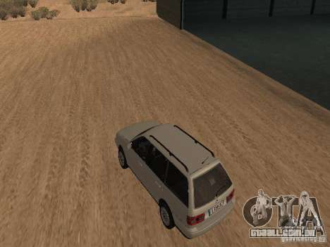 Volkswagen Passat B4 para GTA San Andreas traseira esquerda vista
