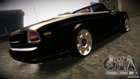 Rolls Royce Phantom Drophead Coupe 2007 V1.0 para GTA San Andreas vista direita