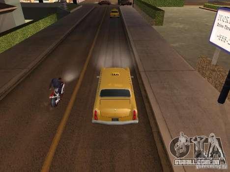 Salto de moto no meu carro para GTA San Andreas segunda tela