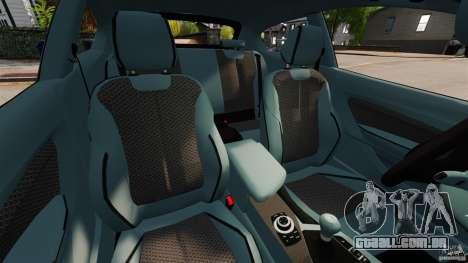 BMW 135i M-Power 2013 para GTA 4 vista interior