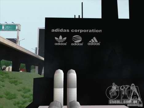 Novo Adidas para GTA San Andreas terceira tela