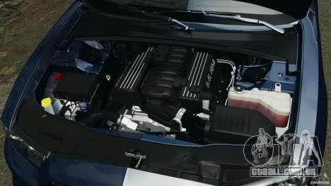 Dodge Charger SRT8 2012 v2.0 para GTA 4 vista superior