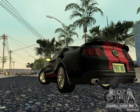 Star ENBSeries by Nikoo Bel SA-MP para GTA San Andreas por diante tela