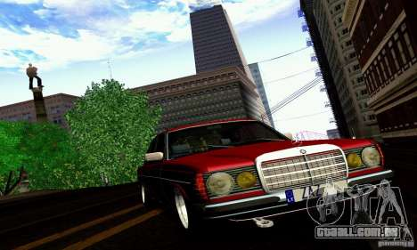 Mercedes Benz W123 para GTA San Andreas interior