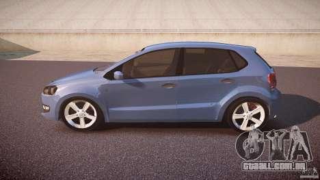 Volkswagen Polo 2011 para GTA 4 esquerda vista