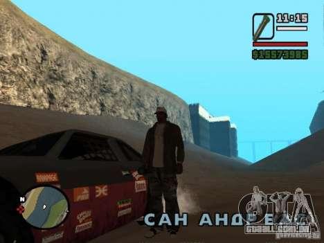 Não há água para GTA San Andreas terceira tela