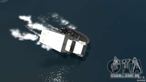 Benson boat para GTA 4 vista direita