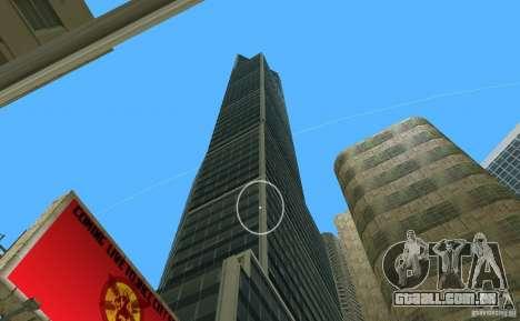 New Downtown: Hospital and scyscrap para GTA Vice City quinto tela