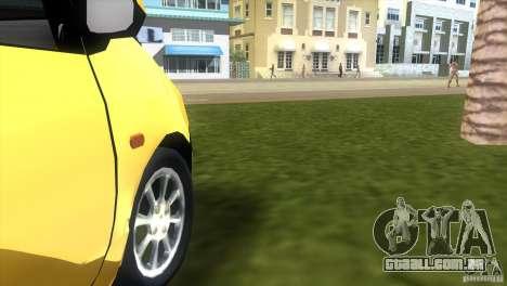 Renault Twingo para GTA Vice City vista traseira